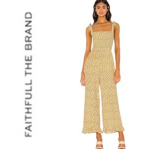 Faithfull the Brand Frankie Jumpsuit Floral Print